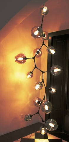 replica Lindsey Adelman 13 Branching Bubble Chandelier