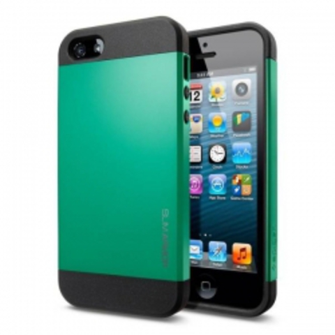 iPhone 5 Case Slim Armor Color чехол - Зеленый