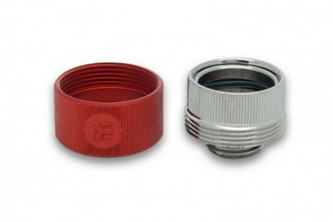 EK-HDC Fitting 16mm G1/4 - Red