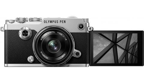 Olympus Pen-F Kit EW-M17 f/1.8 Silver