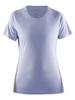 Женская футболка для бега Craft Prime Run 1903176-1487 сиреневая