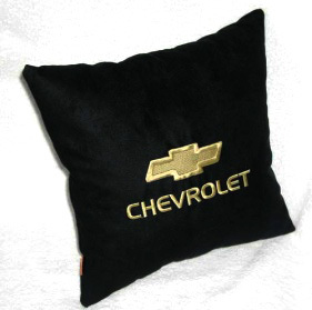 Подушка автомобильная с логотипом CHEVROLET