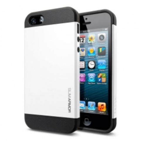iPhone 5 Case Slim Armor Color чехол - Белый