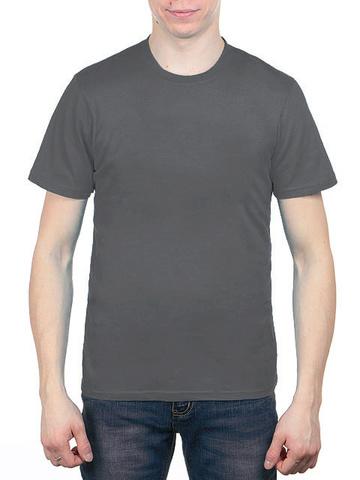 4495-6 футболка мужская, темно-серая