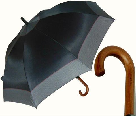 Купить онлайн Зонт-трость Perletti Time 25933-black-Golf black scuro в магазине Зонтофф.