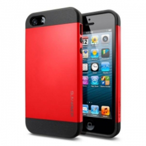 iPhone 5 Case Slim Armor Color чехол - Красный