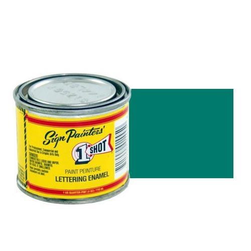 150-L Эмаль для пинстрайпинга 1 Shot Сине-зелёный (Blue Green), 118 мл