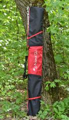 Чехол для беговых лыж Nordski Black-Red на 1 пару до 210см