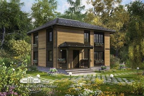 """Двухэтажный дом """"Северини"""" 148 кв.м. из СИП панелей"""