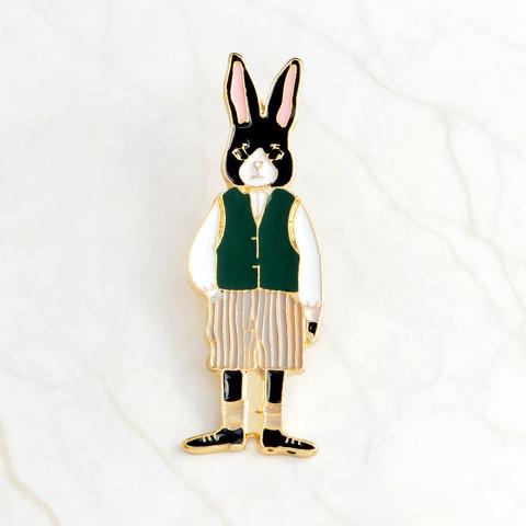 Значок, пін вінтажний - Кролик