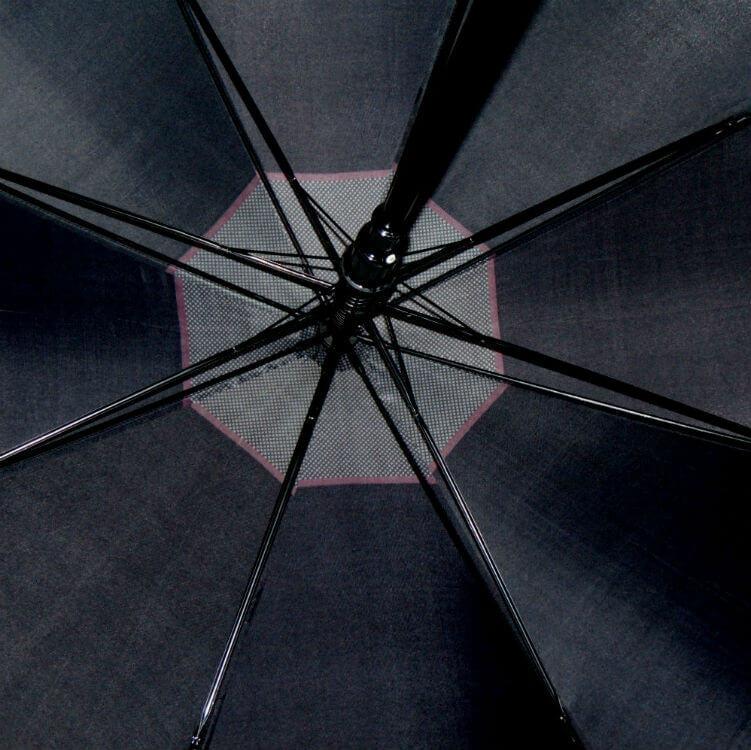 Зонт-трость Perletti Time 25933-black-Golf black scuro