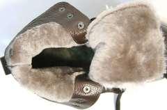 Ботинки зимние женские натуральная кожа натуральный мех Studio27 576c Broun.