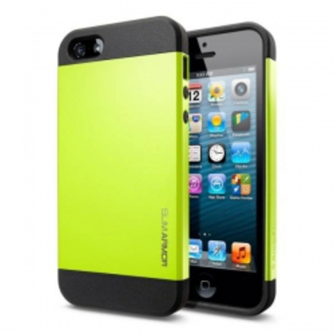 iPhone 5 Case Slim Armor Color чехол - Лайм