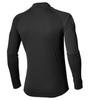 Мужская беговая рубашка Asics Stripe Zip Top 134102 0904 с принтом
