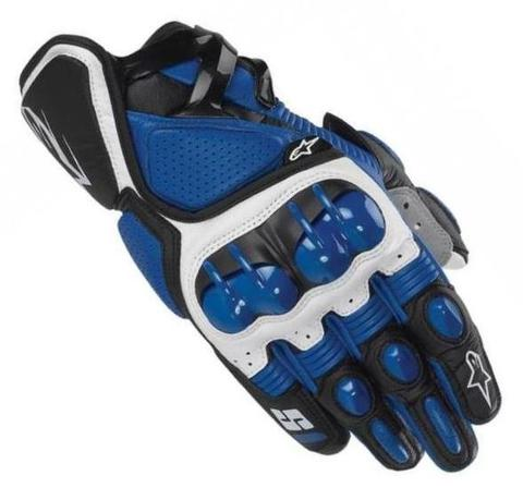 Мотоперчатки - ALPINESTARS S1 (cиние)