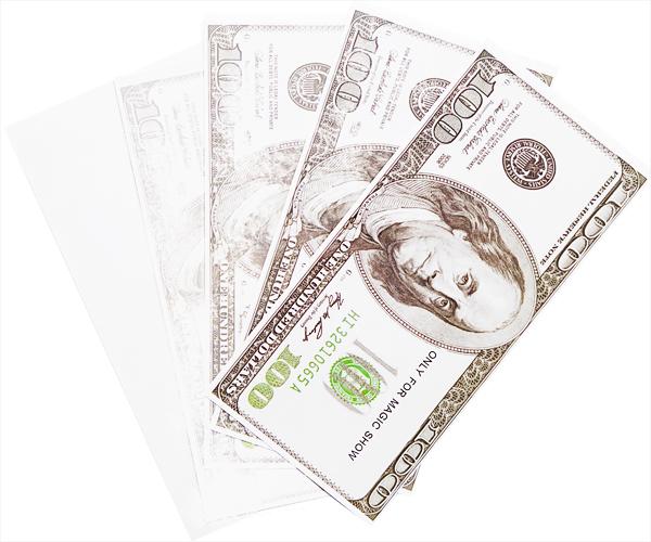 Бумага превращается в деньги
