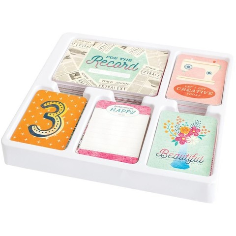 Wonderful edition CORE KIT- комплект карточек для Project Life 616шт