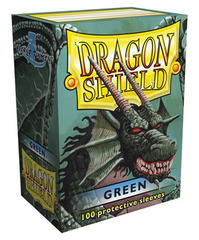Dragon Shield - Зеленые протекторы 100 штук