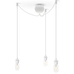 Потолочная чаша на 3 плафона Cannonball White E27-15W LED, длина провода 2,5м, для всех Vita  ламп VITA copenhagen