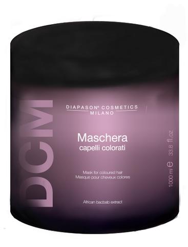 DCM Маска для защиты цвета и восстановления окрашенных волос с Keratin Complex 1000 мл
