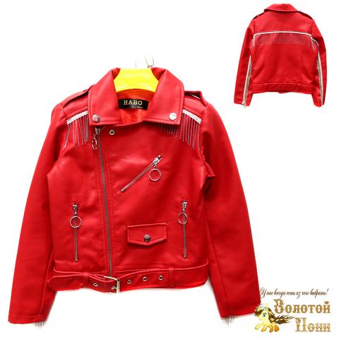 Куртка экокожа девочке (6-11) 200305-T1901.1