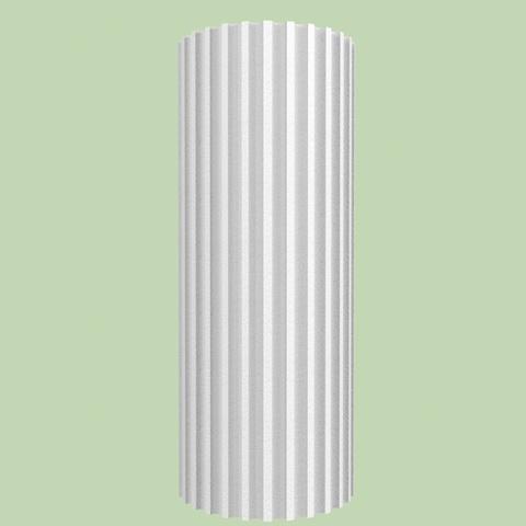 Ствол канелюрной колонны