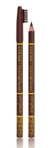 l`atuage Карандаш для бровей  №01 коричневый