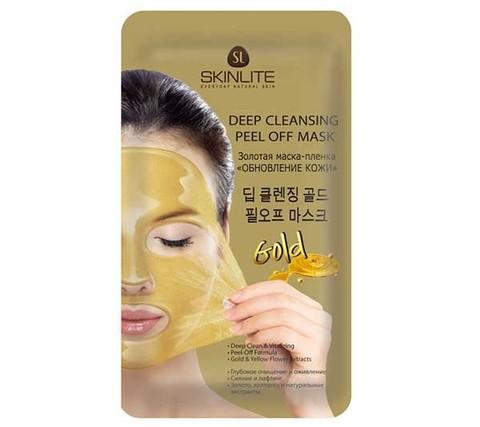 Skinlite Золотая маска-пленка Обновление кожи Skinlite SL-295 15 мл. (Юж. Корея)