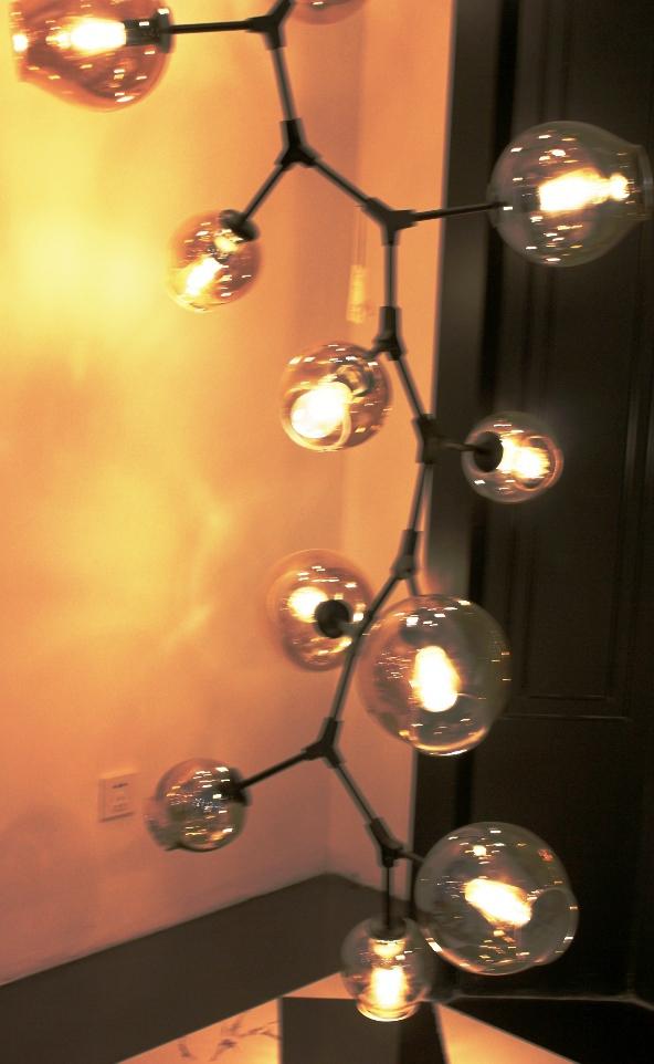 Replica Lindsey Adelman 13 Branching Bubble Chandelier