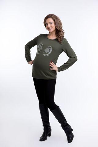 Блузка 09144 зеленый