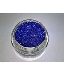 Блестки 3 гр+ баночка синие