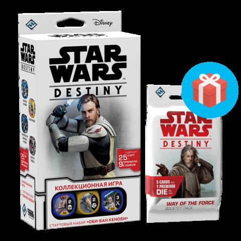 Star Wars: Destiny. Стартовый набор Оби-Ван Кеноби (на русском языке)