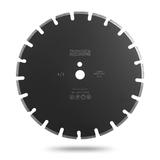 Алмазный сегментный диск по свежему бетону Messer A/L. Диаметр 400 мм.