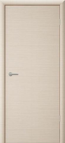 Дверь Сибирь Профиль ДПГ, цвет беленый дуб, глухая