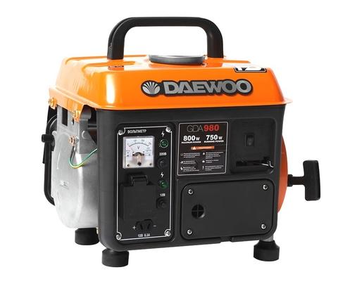 Генератор бензиновый Daewoo GDA 980  Master Line