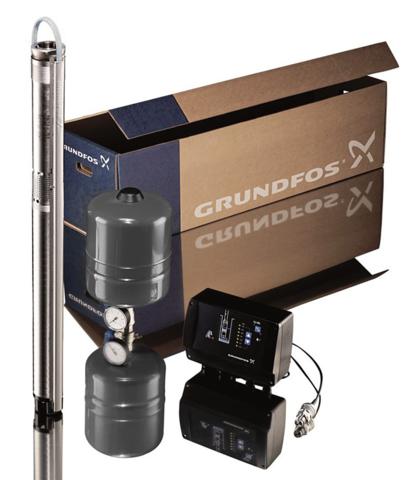 Grundfos SQE 3-105 (комплект)