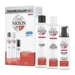 Nioxin Kit System 4 XXL - Набор (Система 4) 300 Мл+300 Мл+100 Мл