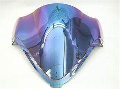 Ветровое стекло для мотоцикла Suzuki GSX-R1300 08-15 DoubleBubble Иридий