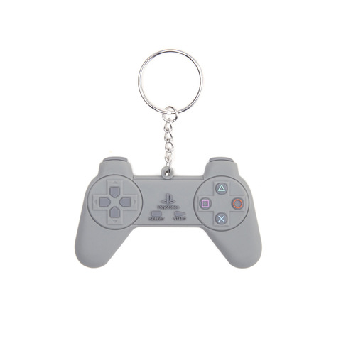 Брелок Difuzed: Playstation Grey Controller Rubber Keychain KE128828SNY