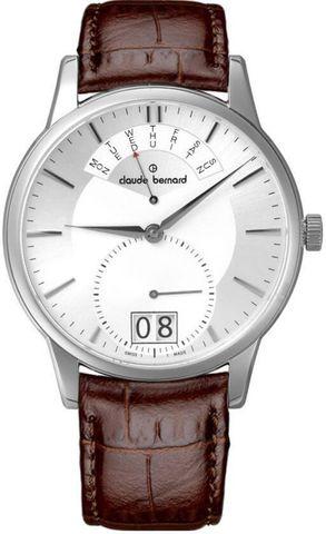 Купить мужские наручные часы Claude Bernard 34004 3 AIN по доступной цене