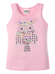 401-1 майка детская, розовая