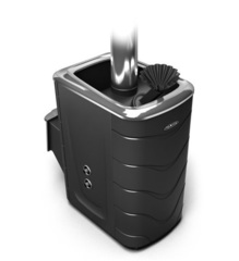 Банная печь Гейзер 2014 Carbon ДН ЗК ТО антрацит