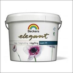 Краска для стен BECKERS ELEGANT VAGGFARG MATT База А (Белый)