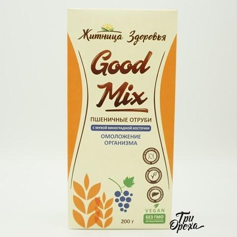 Пшеничные отруби с мукой виноградной косточки ЖИТНИЦА ЗДОРОВЬЯ, 200 гр