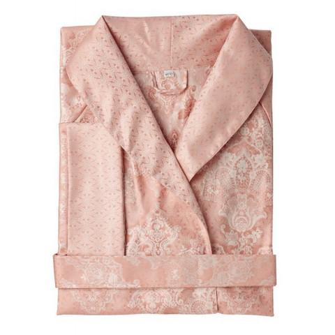 Элитный халат сатиновый Juliette розовый от Curt Bauer