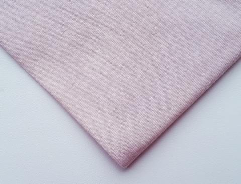 Кулирная ткань (100%- х/б) 15х15см, серебристый пион