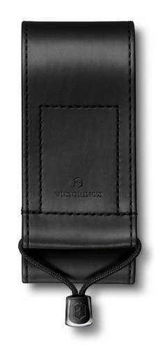 Чехол из искусственной кожи Victorinox, черный, для Swiss Officers Knife 111 мм толщиной 3 уровня, S