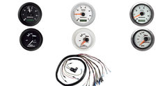 06333-ZW5-01AHE  Комплект приборов 2 шт.(тахометр, тримметр) черного цвета с проводкой