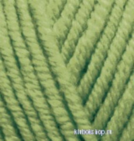 Пряжа Superlana maxi (Alize) 485 Зеленая черепаха, фото