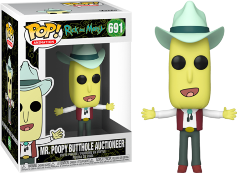 Mr. Poopy Butthole Auctioneer Funko Pop! || Мистер Жопосранчик Аукционист